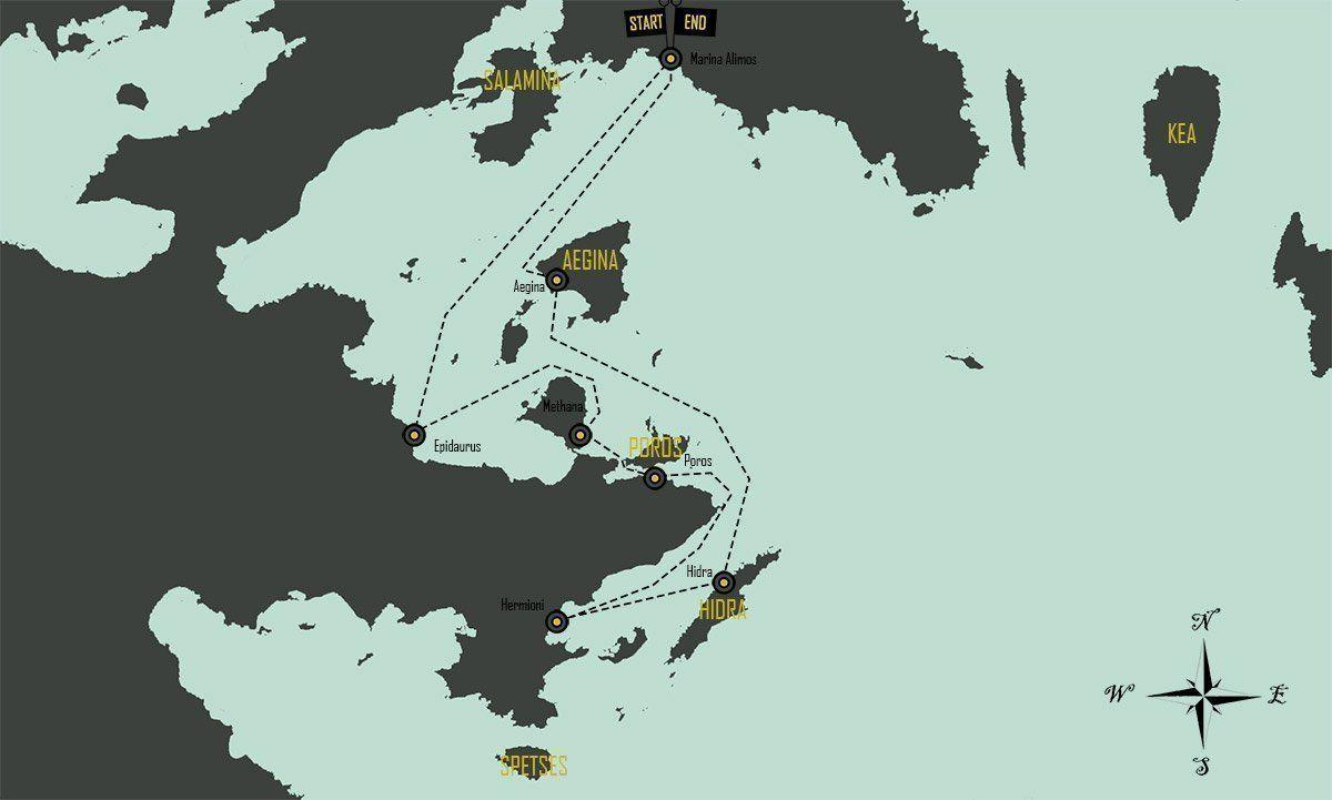 mapa-travesia-grecia-islas-saronico